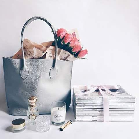 fashion, bags, and gorgeous flowers .. X ღɱɧღ   