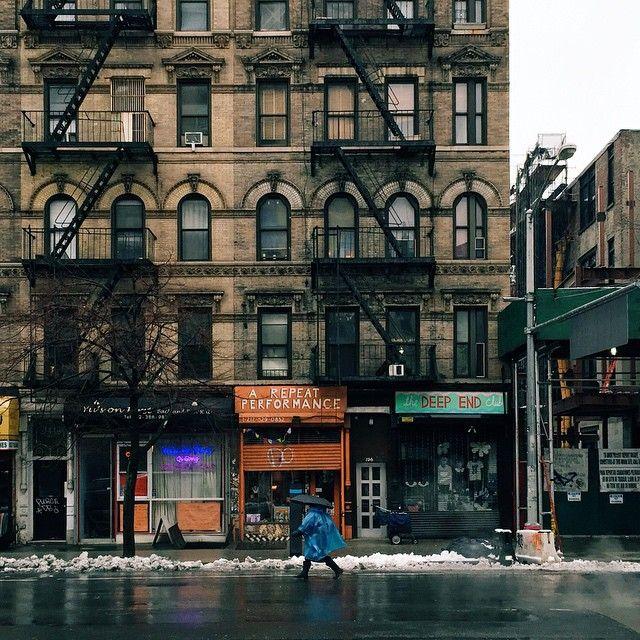 East Village, New York.
