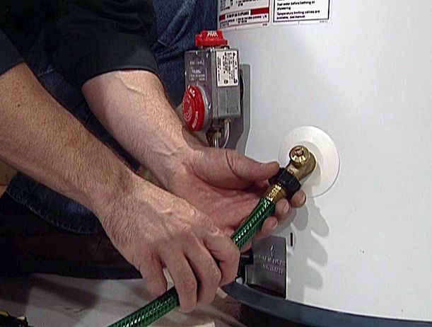 HOW TO DRAIN A WATER HEATER Most people never give their water heater a second thought — until it stops working. One thing you can do to extend the life of hour water heater is to drain the tank annually to remove any sediment that may have built up inside it.