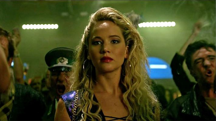 "Don't mess with Jennifer Lawrence. The actress' Raven-Mystique character manages to get into a fight while attending a fight in a brief new clip from ""X-Men: Apocalypse"" rel…"