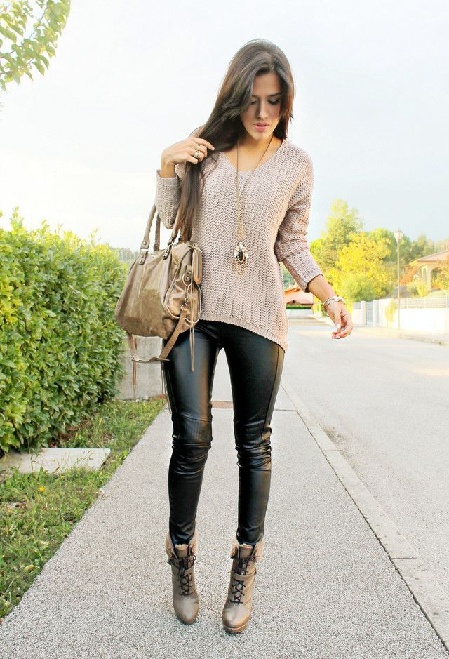 HELLO OCTOBER | Fashion, Black leather pants, Clothes