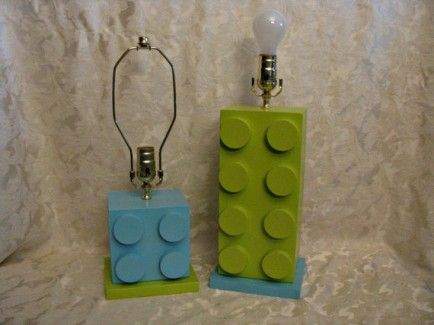 Lego Bedroom lamp