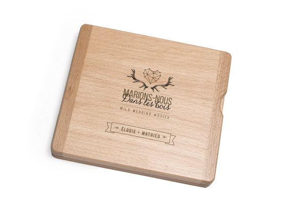 CD/DVD wooden case for 1 DISC. Hand made in our studio from the beginning to the end out of natural beech wood.  A great idea for unique gift - ready