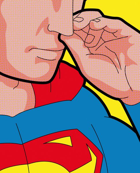 Secret Hero Life - Pop icons by Grégoire GUILLEMIN, via Behance