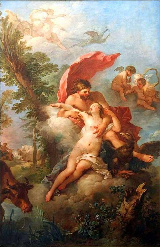 History of the Gods - Jupiter Abducting Io (Dějiny bohů - Jupiter unáší Ió)