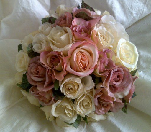 Best Wedding Flowers Perth : Best ideas about pink and ivory on bride
