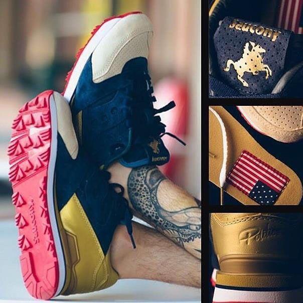 "SNEAKER POLITICS X SAUCONY ""THE CANNON"" & ""THE JACKSON "" Battle of New Orleans Pack NOV 25 Novembre € 149,00 @sneakers76 store + online h 00:01cet Sneakers76.com @sauconyoriginals @sneakerpolitics #thecannon #thejackson #saucony"