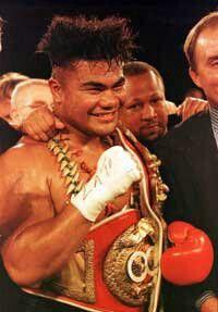 The Samoan King who can knock your teeth out.. David Tua.