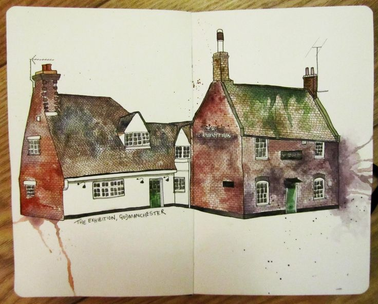 Watercolour sketch by Natalie Murray