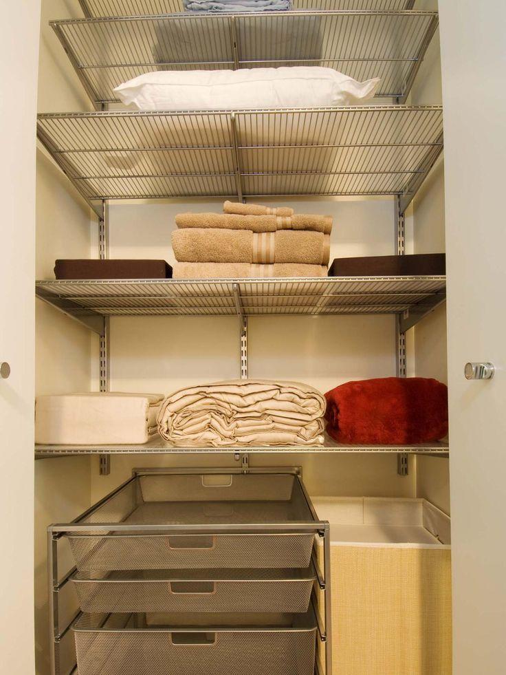 Linen Closet Organization Ideas Pinterest Part - 33: Decorations : Closet Organizing Ideas Inspired Good Closet .