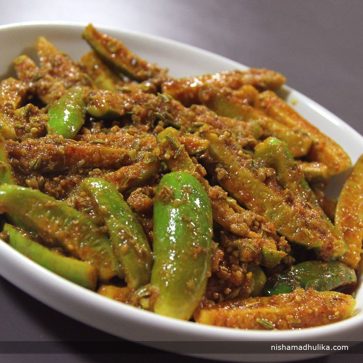 Tendli or kundru pickle is one of the popular and traditional pickle recipe.  Recipe in English- http://indiangoodfood.com/2512-tendli-pickle-recipe-2.html (copy and paste link into browser)  Recipe in Hindi- http://nishamadhulika.com/1608-tendli-pickle-recipe.html (copy and paste link into browser)