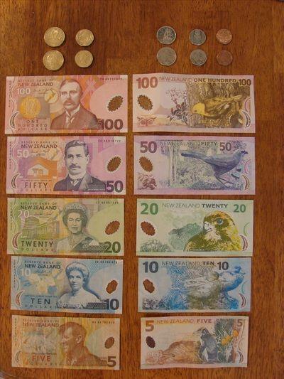 new zealand money | ... New Zealand money. It's so much prettier than U.S. money! Here's