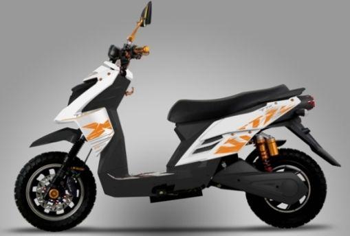 Электрический скутер KSR TTX по цене велосипеда — € 1599