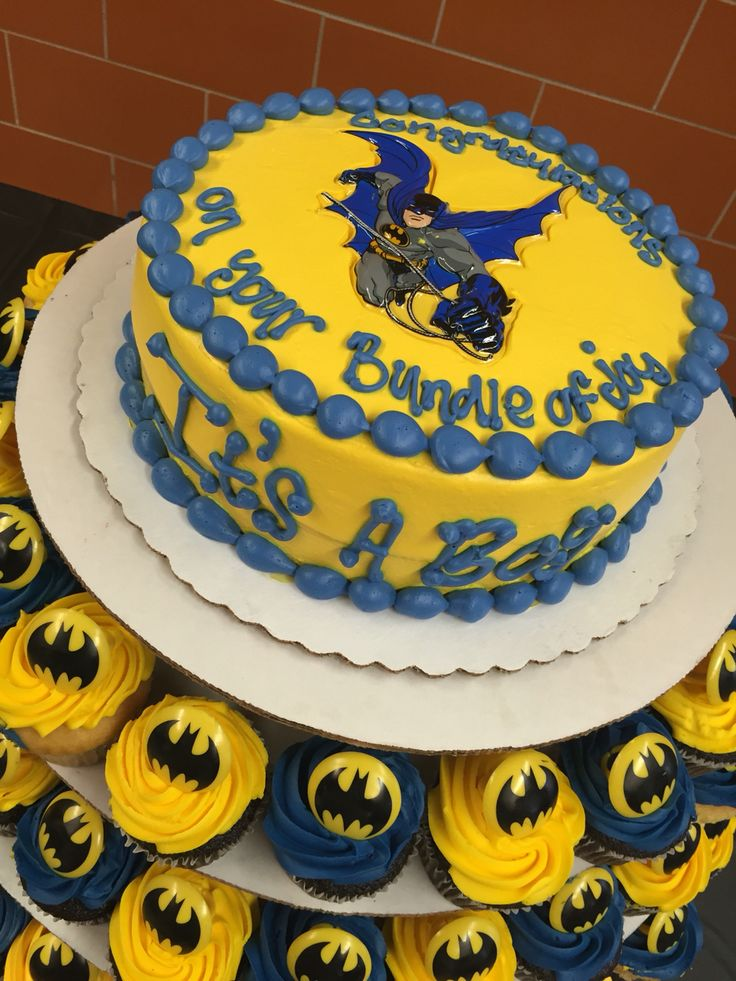 Baby Batman Baby Shower Party Ideas Baby Shower Parties Shower