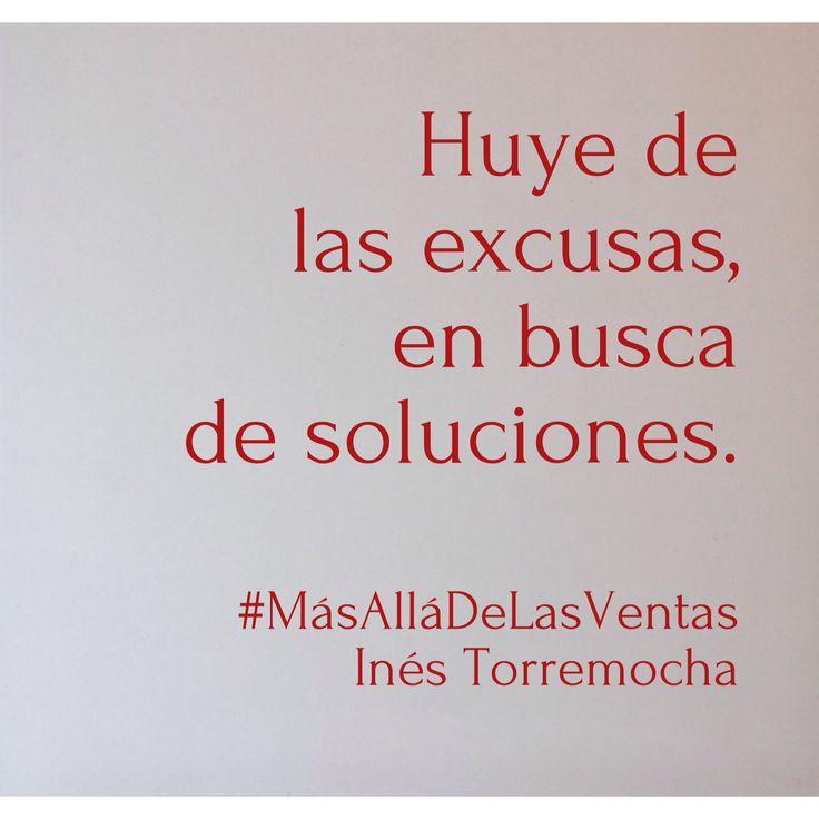 Soluciones. #MasAllaDeLasVentas #citas