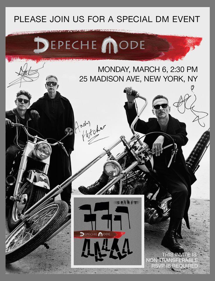 Depeche Mode open their tour rehearsal studio to group of lucky fans « Home / a Depeche Mode website