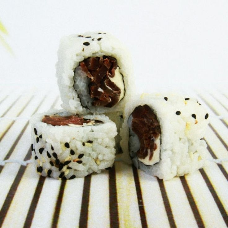 Have you ever tried Biltong sushi ?