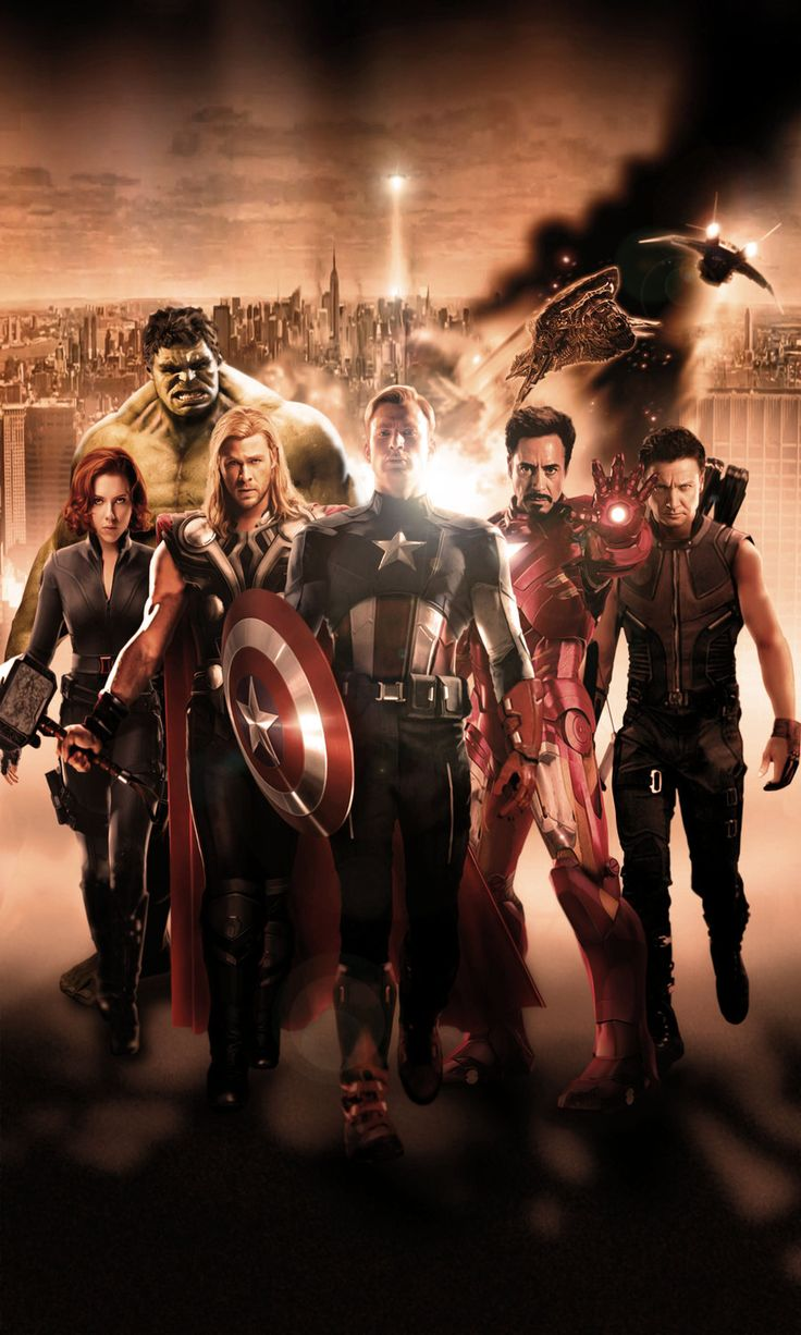 The Avengers by N8MA.deviantart.com on @deviantART
