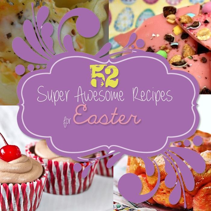 52 Super Awesome Recipes for Easter. Recipe Roundup #craftcravings #recipes #Easter #cooking