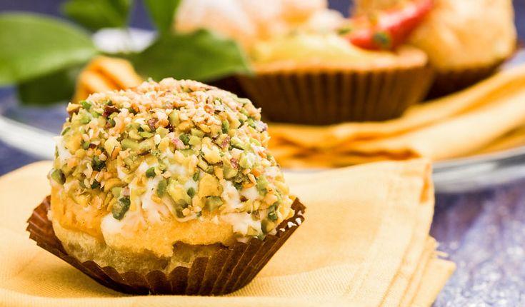 Rezept für Low Carb Muffins: Die kalorienarmen Muffins werden ohne Zucker und Getreidemehl gebacken. Sie sind kohlenhydratarm und ...