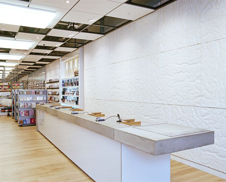 Paperchase Glasgow Cash Desk By Made In Place Design Award Winning Interior Photo
