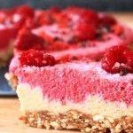 Sund vegansk 'cheesecake' - Gymfoodie | Sunde mad og fitness opskrifter | Perfekte til diæt og vægttab