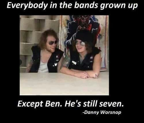 All You Need To Know About Ben Domenech Who Is Now: 45 Best Images About Asking Alexandria On Pinterest