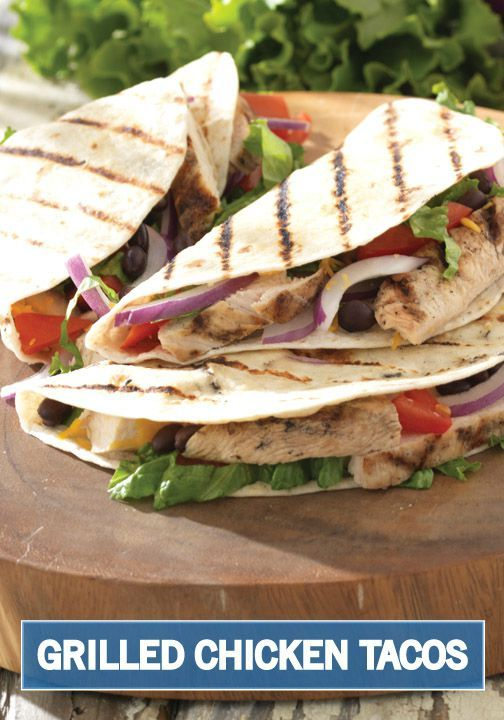 border for your next barbecue creation with this Grilled Chicken Taco ...