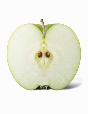 Why Cut Apples Turn Brown: Once a cut apple is exposed to air, it starts to discolor.