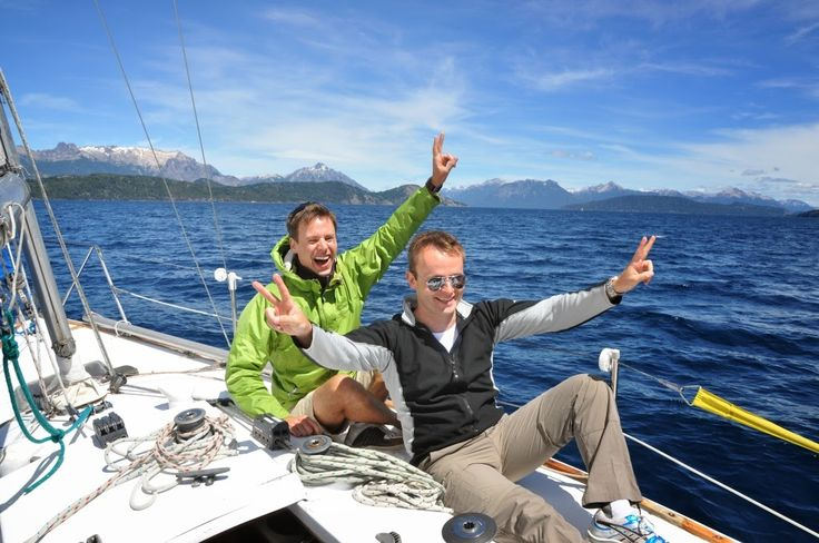 BarilocheGayTravel Blog: The Best Site for Gay Travel to Bariloche & Patagonia: YACHTING BARILOCHE