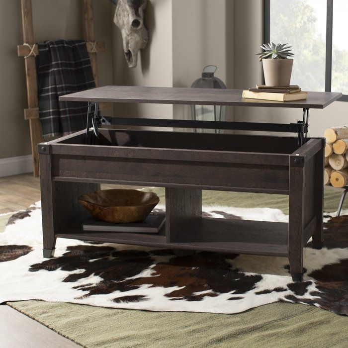 Leach Lift Top Coffee Table Coffee Table With Storage 3 Piece