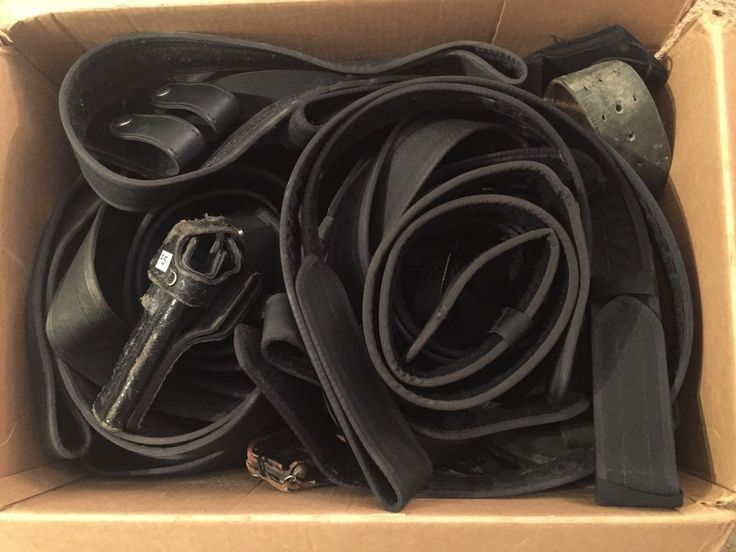 Giant Box of Police Duty Gear!