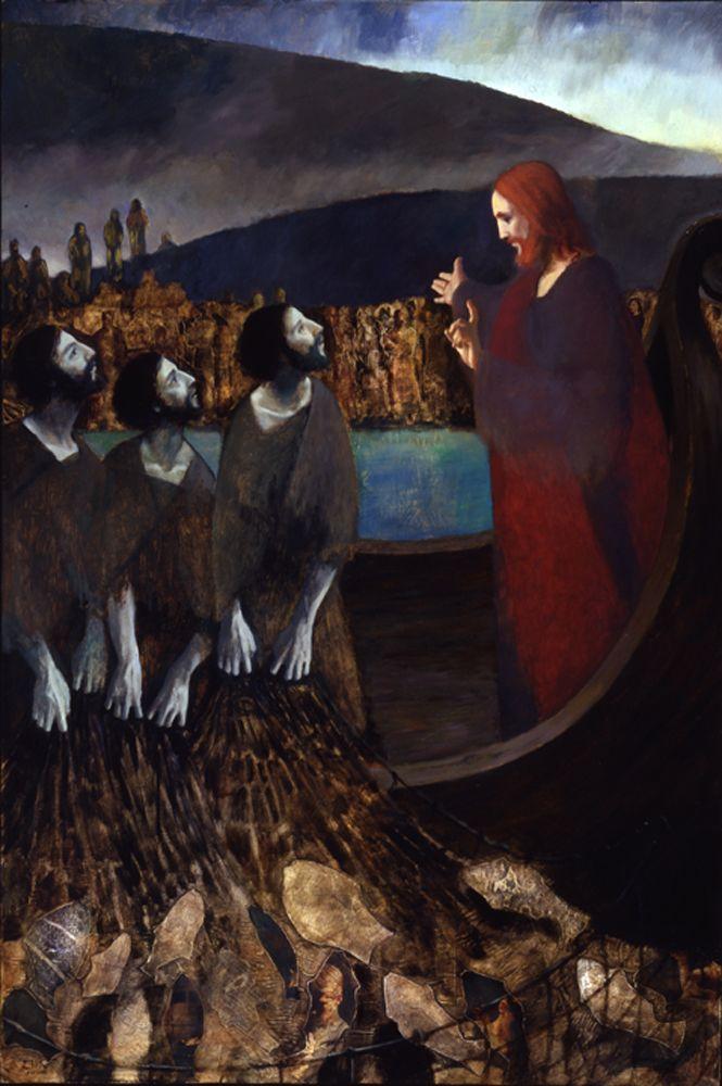 J. Kirk Richards, Fisher of Men: Christ Image, Richard Art, J.Kirk Richard, Christian Art, Fishers Of Men, Fisher Of Men, Catholic Art, Art Prints Design, Religious Artworks