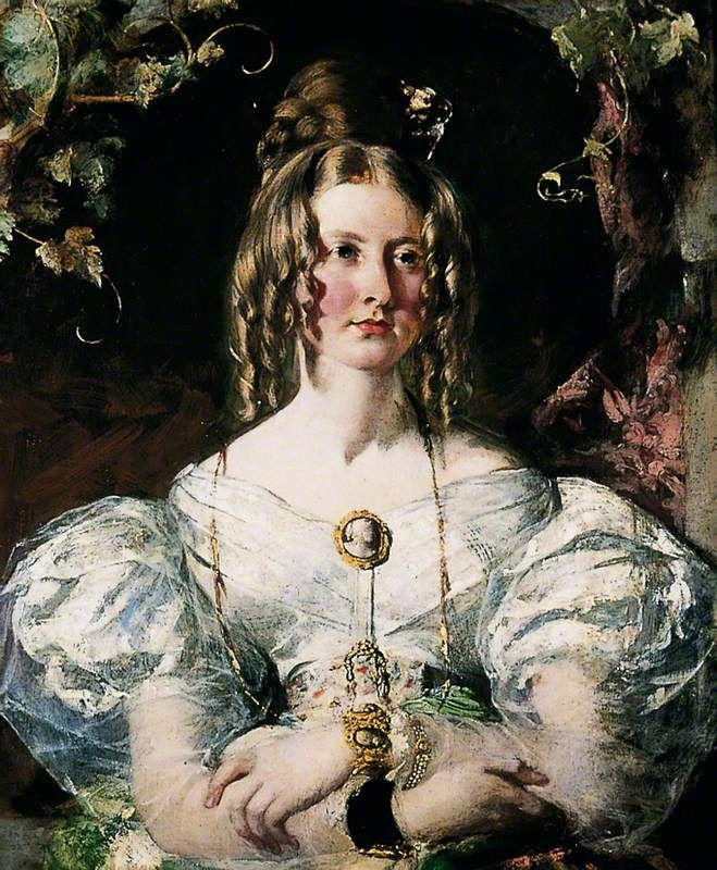 The Athenaeum - ETTY, William English (1787-1849)_Miss Elizabeth Potts- 1833