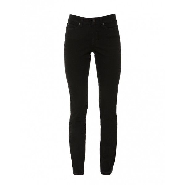 Cambio Parla Black Stretch Denim Jean (1332940 PYG) ❤ liked on Polyvore featuring jeans, stretch denim jeans, denim skinny jeans, cambio jeans, cambio and 5 pocket jeans