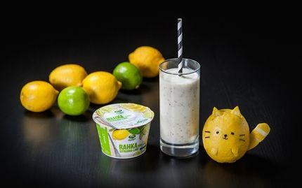 Lime-sitruuna smoothie