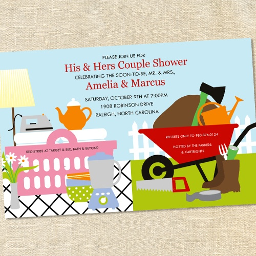 sws 20 his u0026 hers couples honeydo shower invitations