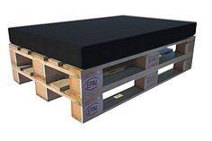 http://ift.tt/1TiQySx Paletten Kissen für Europaletten (120x80x12cm) aus Polster-Schaumstoff mit Microfaserbezug schwarz #c@!