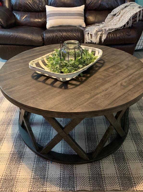 Sharzane Coffee Table Ashley Furniture Homestore In 2020 Round