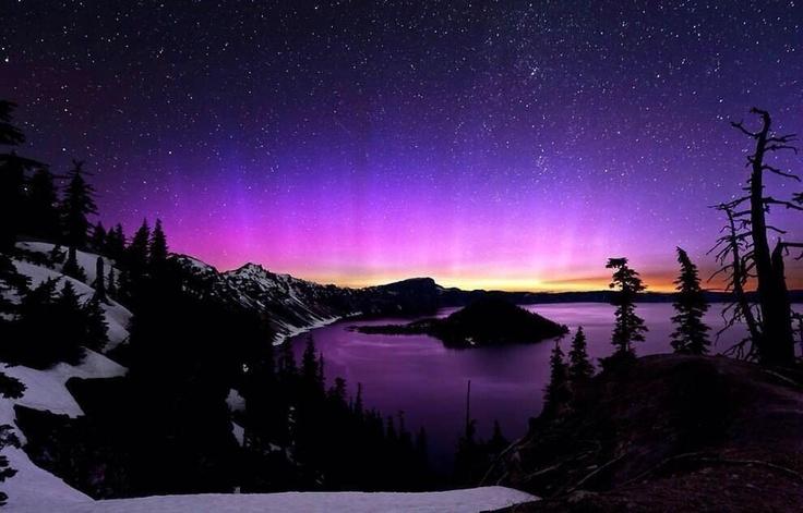 lago del cráter, Oregon ;)