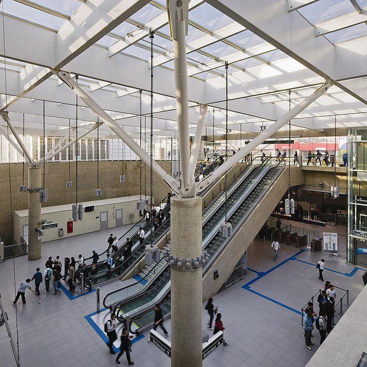 Luiz Esteves: Estação Vila Prudente do metrô, São Paulo - Arcoweb
