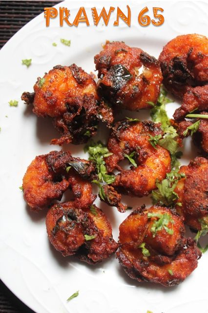 YUMMY TUMMY: Prawn 65 Recipe - Spicy Shrimp Fry Recipe
