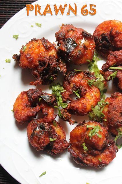 YUMMY TUMMY: Prawn 65 Recipe - Spicy Shrimp Fry Recipe