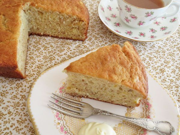 This is easily the most moist banana cake I have ever tasted.