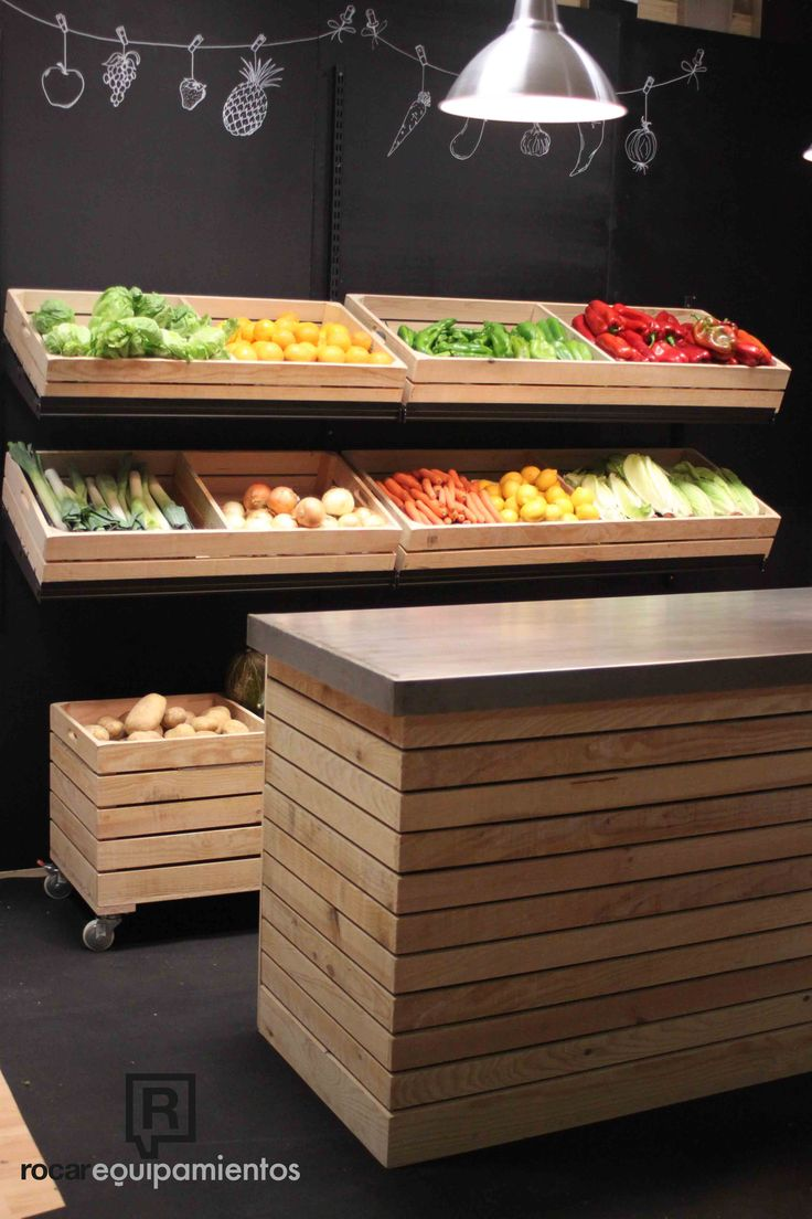 Serie Box. Ideal para frutería y verdulería.