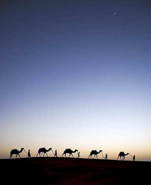 Alif Laila (1001 Nights).  An evening shot in Thar.