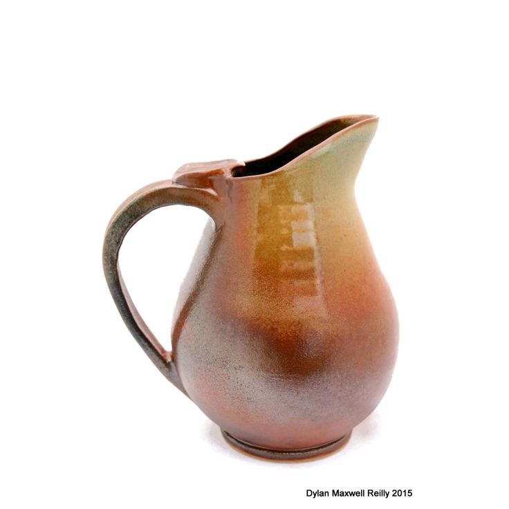Handmade Pottery Pitcher Earthy Colored by LadybugSoapworks on Etsy