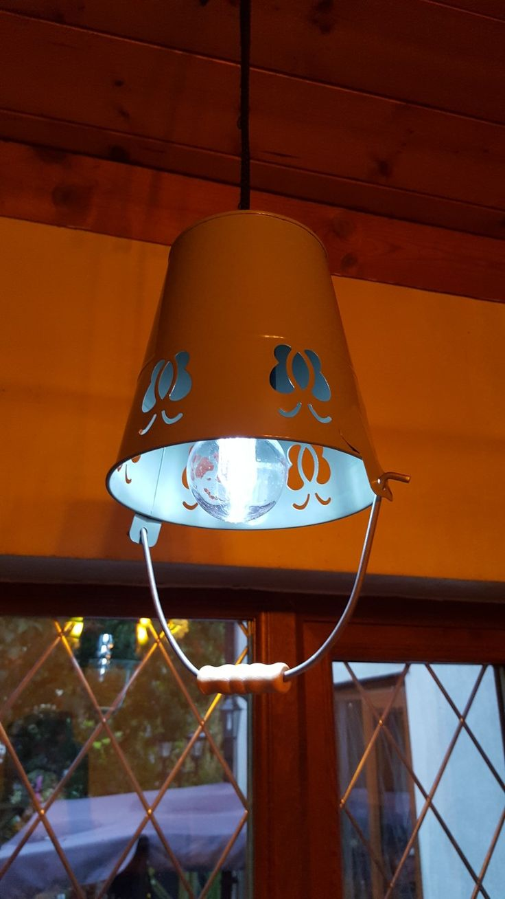 My upcycled lamp