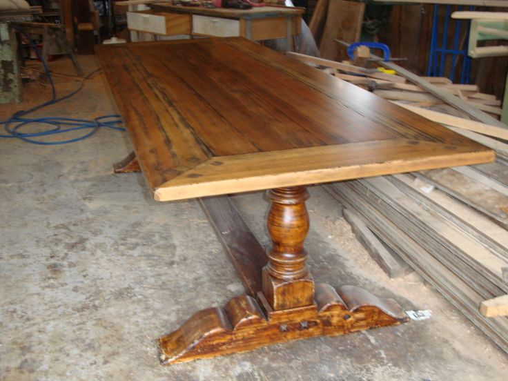 Kauri Pine Indoor Dinning Table By Christoper Bennell. Buy direct from the craftsman for savings of up to 50% on retail price. 02 4632 7699