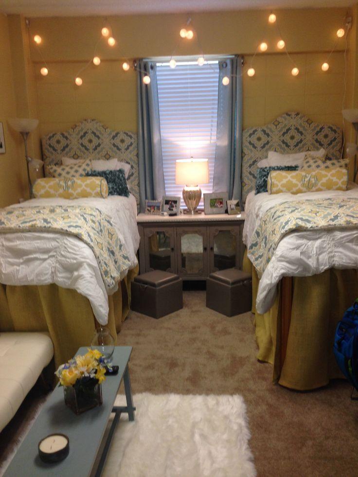 1000+ ideas about Yellow Headboard on Pinterest  ~ 063030_Southern Dorm Room Ideas